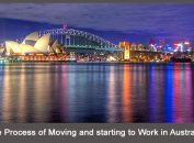 The Process of Moving and starting to Work in Australia